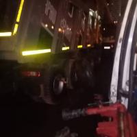 Замена взорвавшегося колёса #шиномонтаж #грузовойшиномонтаж #выезднойшиномонтаж