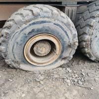Небольшой гвоздик))) #шиномонтаж #шиномонтажгрузовой #шиномонтажспецтехники #ремонтколес